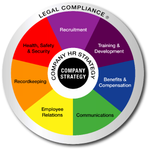 Outsourced HR Wheel of Services