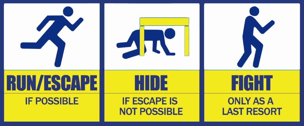 Image result for active shooter options