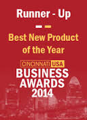 Runner-Up Best New Product of the Year - Cincinnati USA Business Awards 2014