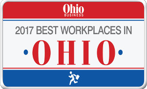 2017 Best Workplaces in Ohio Logo