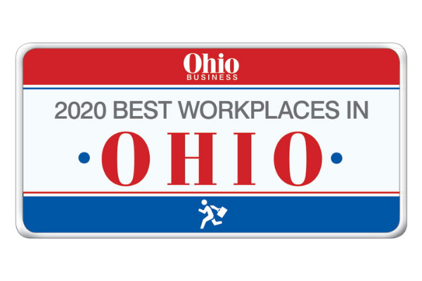Best Workplaces in Ohio 2020 Logo