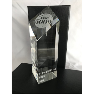 strategic HR inc.'s 2019 Inc 5,000 List Award