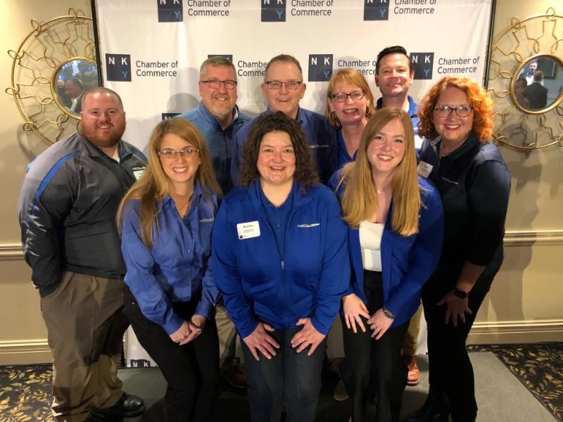 PHOTO - Team at NKY Chamber Business Impact Awards ceremony - 2019