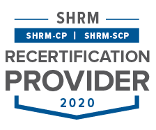 SHRM Recertification Program Seal