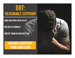 IMAGE for DOT Reasonable Suspicion e-learning (2020)