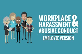 IMAGE for Workplace Harassment & Abusive Conduct Prevention - Employee Version (e-learning Training) 2020
