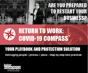 Image for Return to Work COVID-19 Compass - Your Playbook and Protection Solution