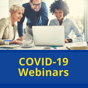 Image for COVID-19 webinars