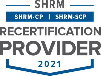 SHRM Recertification Provider-CP-SCP Seal- 2021